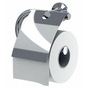 Držač toalet papira Fars-Inox s poklopcem