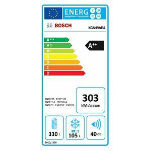 Hladnjak Bosch KGN49AI31 - 70 cm širine - NoFrost