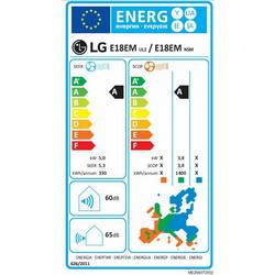Klima LG E18EM set