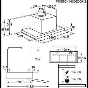 Napa Electrolux LFP536X (600m3/h)