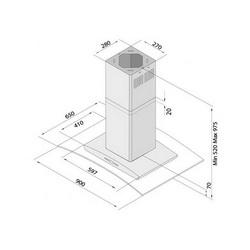 Napa Siccabo Omega O-LX - otočna (645m3/h)