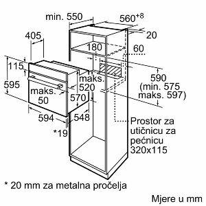 Pećnica Bosch HAF010BR0