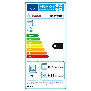 Pećnica Bosch HBA573BB1 - piroliza