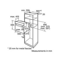 Pećnica Bosch HBG43T320R