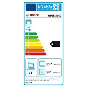Pećnica Bosch HBG5370S0