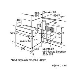 Pećnica Bosch HBN311E4