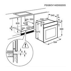Pećnica Electrolux EEC2400BOX - piroliza