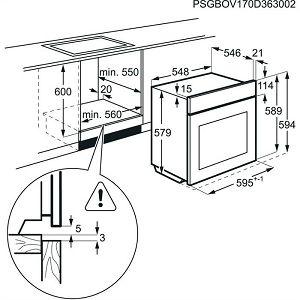 Pećnica Electrolux EOC5631AOX - piroliza