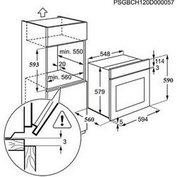 Pećnica Electrolux EZC2430AOX - piroliza