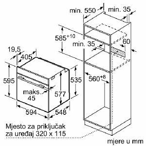 Pećnica Siemens HB673GBS1 - piroliza