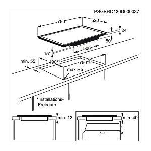 Ploča Electrolux EHD8740FOK - indukcija