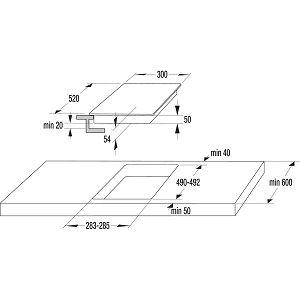 Ploča Gorenje IT321BCSC - indukcija