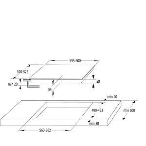 Ploča Gorenje IT646ORAW - indukcija