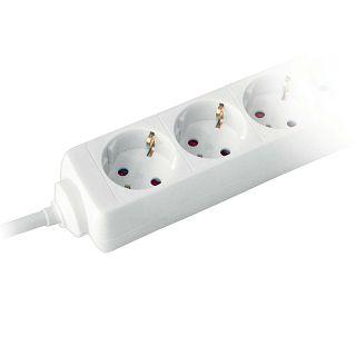 Produžni kabel Commel 3/3m bijeli 16A 250V~3500W 0804