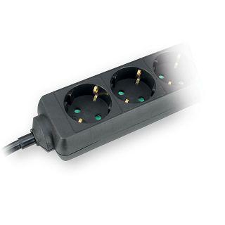 Produžni kabel Commel 5/1,4m crni 16A 250V~3500W 232-521