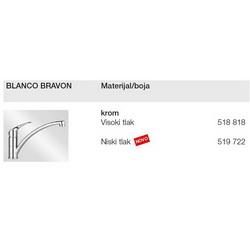 Slavina BLANCO BRAVON VT Krom