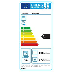 Štednjak Electrolux EKK54953OX - električna pećnica
