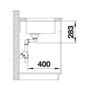 Sudoper Blanco Supra 500-U 18/10 bez dalj. 518205