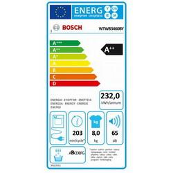 Sušilica rublja Bosch WTW83460BY