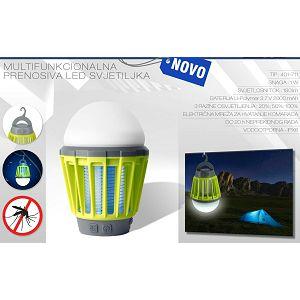 Svjetiljka prijenosna Commel LED 1W 3,7V 2000mAh MosquitoKiller