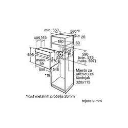 Pećnica Bosch HBG78B750 - piroliza