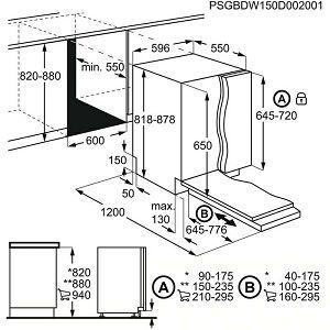 Ugradbena perilica posuđa Electrolux EEA17100L