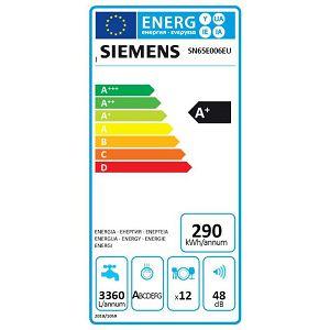 Ugradbena perilica posuđa Siemens SN65E006EU