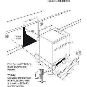 Ugradbeni hladnjak AEG SFB58211AF