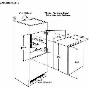 Ugradbeni hladnjak Electrolux ERN1300FOW