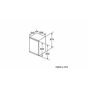 Ugradbeni zamrzivač Bosch GIV21AF30 - LowFrost
