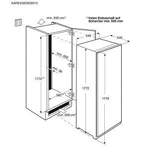 Ugradbeni zamrzivač Electrolux EUN2244AOW