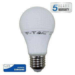 Žarulja LED V-TAC Samsung 9W E27 A58 6400K