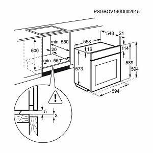 Pećnica Electrolux EOC5654AOX - piroliza