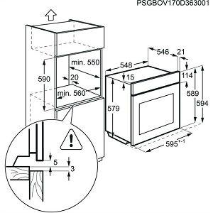 Pećnica Electrolux EOC5750AOX - piroliza