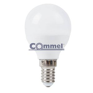 Žarulja LED Commel 6W E14 G45 3000K