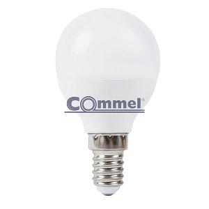 Žarulja LED Commel 8W E14 G45 3000K
